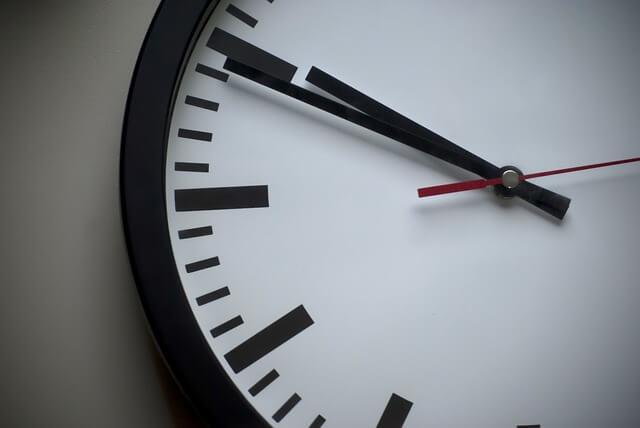 définition éjaculation précoce: horloge